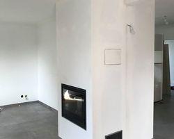 Cheminée Fondis Normandie - Tourville-sur-Odon - Foyer / insert